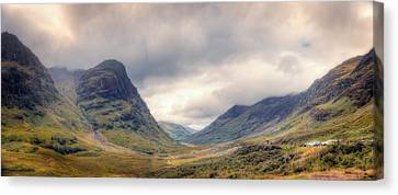 Glencoe Panorama Canvas Print