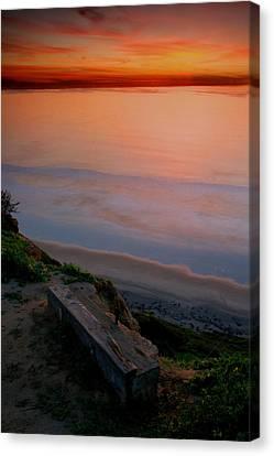 Gliderport Sunset 2 Canvas Print