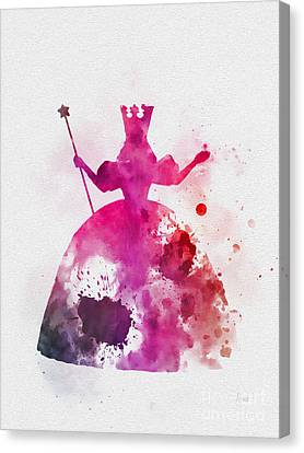 Glinda The Good Witch Canvas Print by Rebecca Jenkins