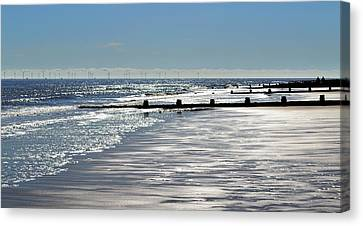 Glistening Shore Canvas Print