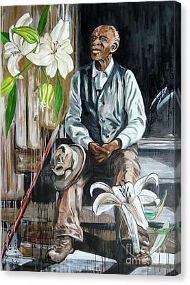 Gloaming Canvas Print by Yuko Nogami Taylor