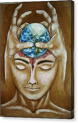 Global  Awareness Canvas Print