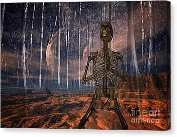 Global Warming Canvas Print by Nichola Denny