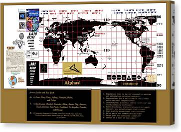 Globalocity Canvas Print