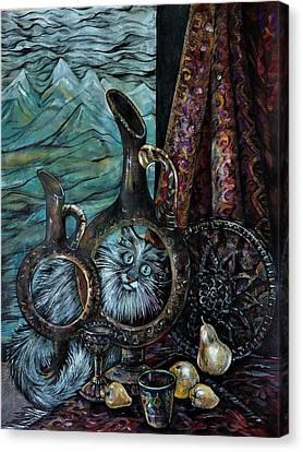 Gloomy Morning Canvas Print by Anna Duyunova