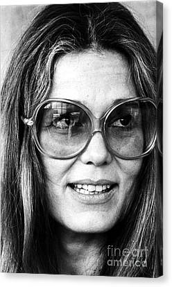 Gloria Canvas Print - Gloria Steinem (1934-) by Granger