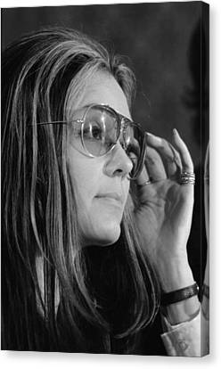 Gloria Canvas Print - Gloria Steinem B. 1934, Feminist by Everett