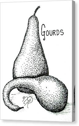 Glorious Gourds Canvas Print