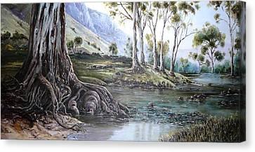 Glorious Gums - Flinders Ranges Canvas Print
