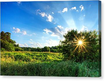 Canvas Print featuring the photograph Glorious Landscape by Anthony Rego