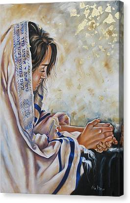 Glory In His Name Canvas Print by Ilse Kleyn