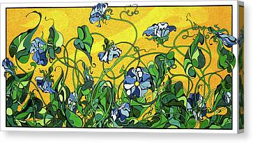 Glory In The Flower Canvas Print