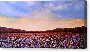 Glory Of Cotton Canvas Print