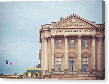 Glory Of France Canvas Print