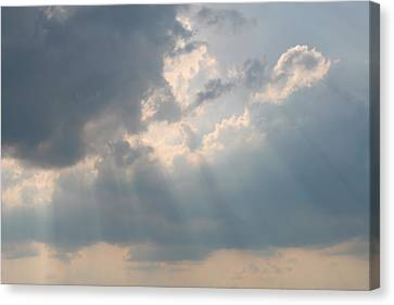 Glory Of The Heavens Canvas Print by Linda Phelps