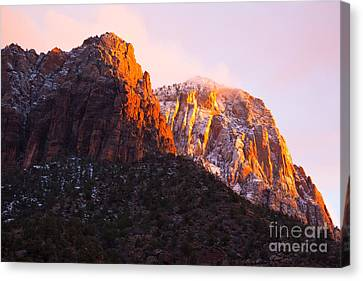 Glory Of Zion IIi Canvas Print by Irene Abdou