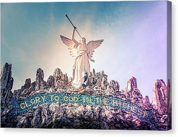 Jesus Canvas Print - Glory To God In The Highest by Art Spectrum