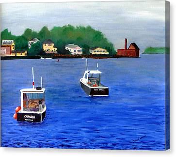 Glouster Paint Factory Canvas Print