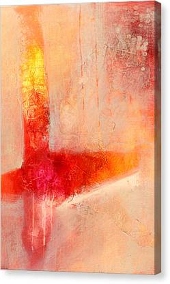 Glow 2 Abstract Art Canvas Print by Nancy Merkle
