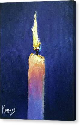 Glow Canvas Print by Mike Moyers