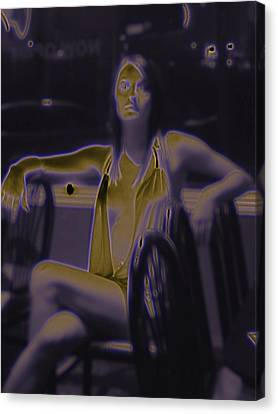 Glowing Brittney IIi Canvas Print