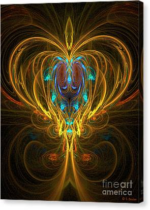 Glowing Chalise Canvas Print