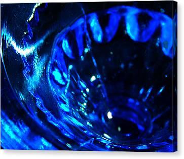 Glowing Glass Beauty Canvas Print
