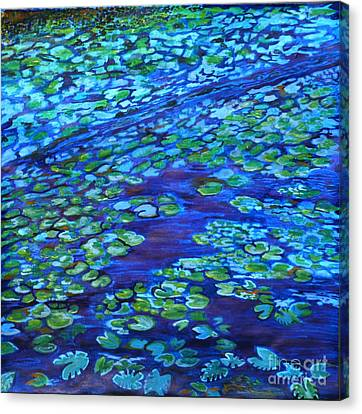 Glowing In The Dark Canvas Print by Barbara Donovan