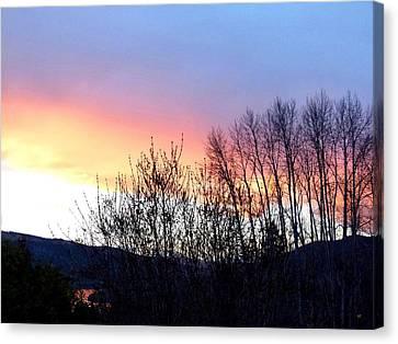 Glowing Kalamalka Lake Canvas Print
