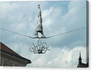 Leoben Canvas Print - Gluck Auf by Holland Vande Krol