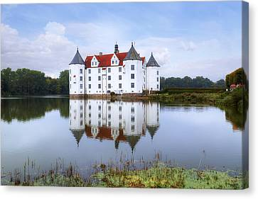 Gluecksburg Castle - Germany Canvas Print by Joana Kruse