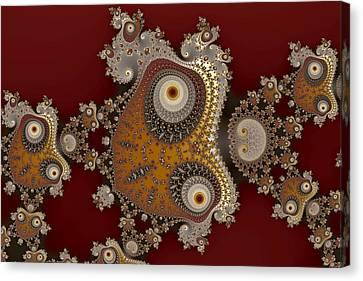 Glynns And Spirals No. 1 Canvas Print