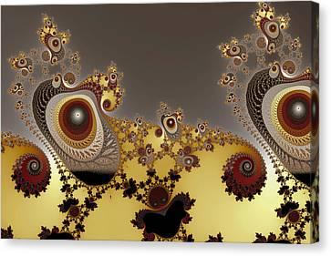 Glynns And Spirals No. 3 Canvas Print