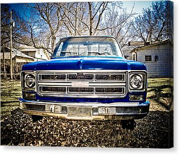 Gmc Pickup Canvas Print