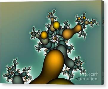 Gnarly Tree Canvas Print by Jutta Maria Pusl