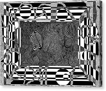 Licorice Canvas Print - Gnidnereven by Douglas Christian Larsen