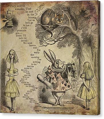 Go Ask Alice Canvas Print by Diana Boyd