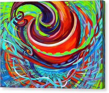 Go Cup Canvas Print