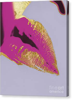 Go-go Girl Canvas Print by Mindy Sommers