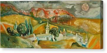Go Home Canvas Print by Gyorgy Szilagyi