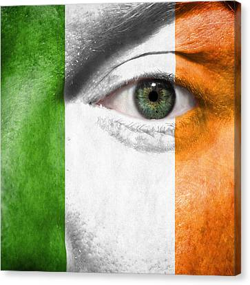 Go Ireland Canvas Print