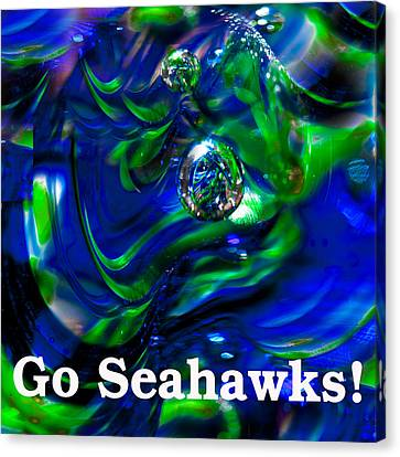 Go Seahawks Canvas Print by David Patterson