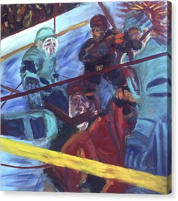 Goal Canvas Print by Ken Yackel