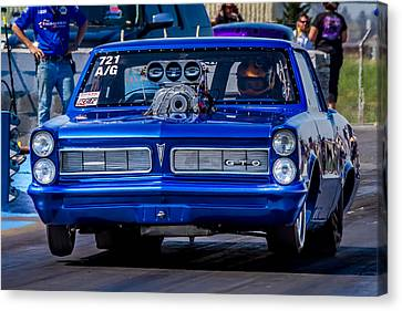 Drag Racing Canvas Print - Goat by Bill Gallagher