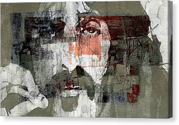 Songwriter Canvas Print - God I Think I'm The American Dream  by Paul Lovering