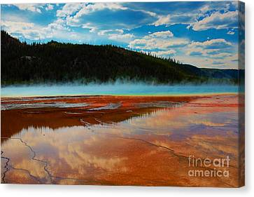 Canvas Print featuring the photograph God Is by Robert Pearson