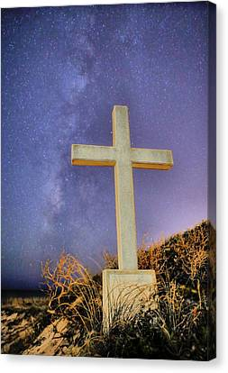 The Universe Canvas Print - God by JC Findley