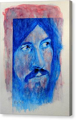 God Of Thunder - John Bonham Canvas Print by William Walts