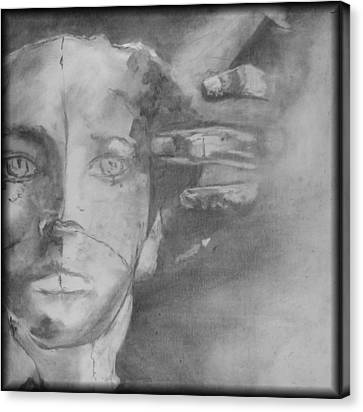 GOD Canvas Print by Rebecca Tacosa Gray