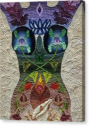 Godbody Canvas Print by Arla Patch